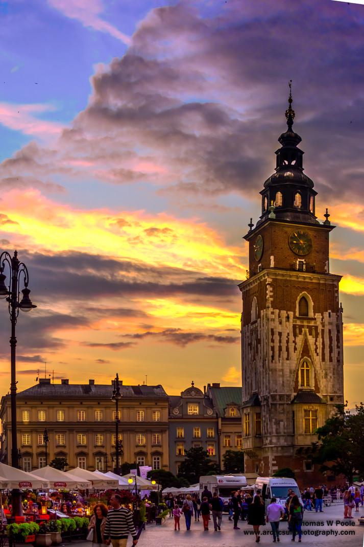 Krakow Sunset H.D.R