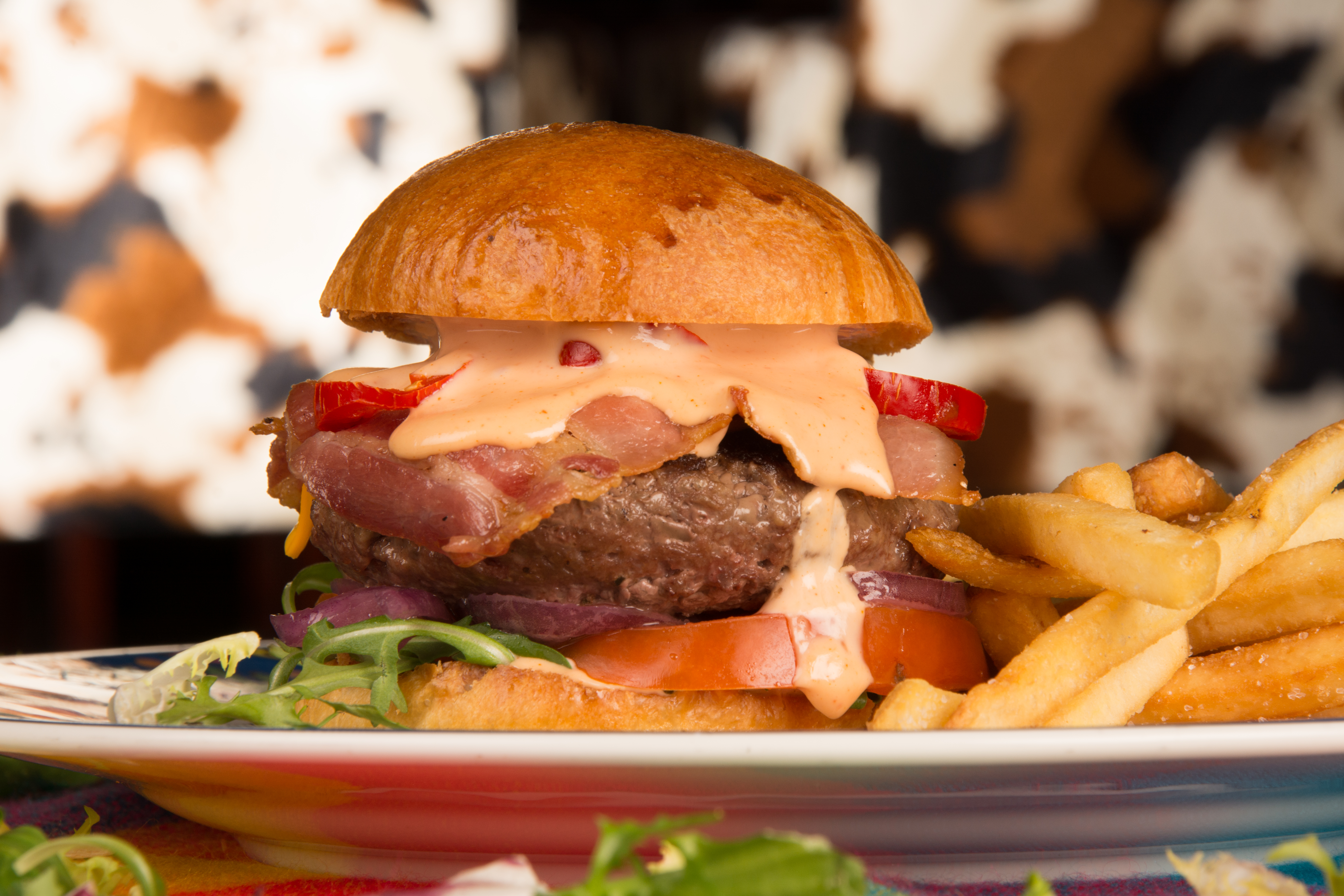 Beef & Bacon Burger