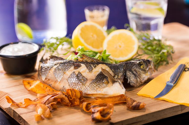 Mexican Sea Bass & Sweet Potato
