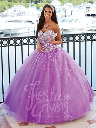 Violet Ball Gown