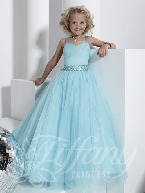 Ocean Blue Girls Dress
