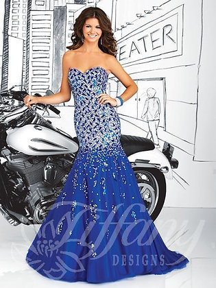 Royal Silver Gown
