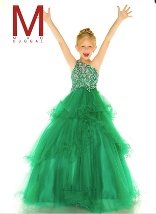 MAC DUGGAL Emerald Green Sugar 48315s