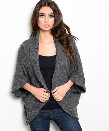 Dark Gray Chunky Sweater