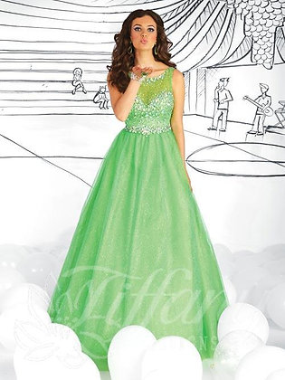 Extraordinary Sparkles Glittering Prom Gown