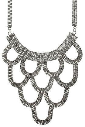 Black Loop 3-Tiered Necklace