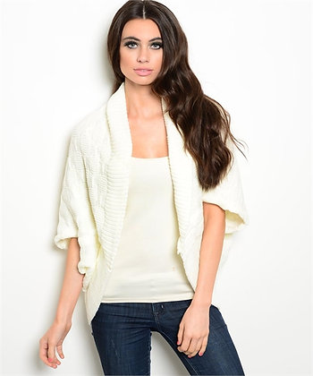 Ivory Chunky Sweater