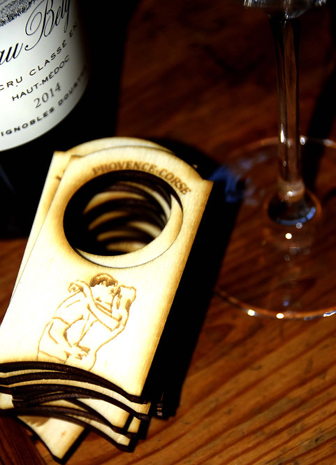 """Etiquettes à vin  """"Les baisers de Bacchus"""""""