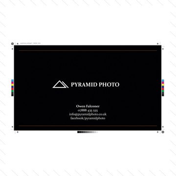 'Pyramid Photo' Business Card