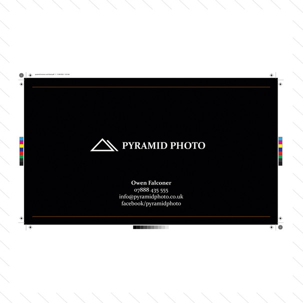 'Pyramid Photo' Business Card