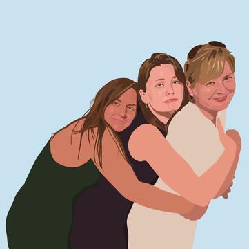 'Hugging Mum'