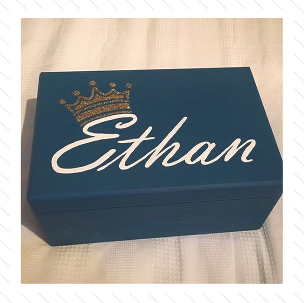 Decorative Painted Wooden Box