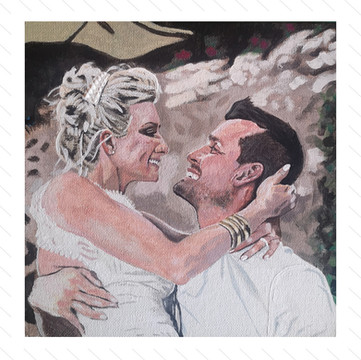 'A Perfect Wedding' Painting