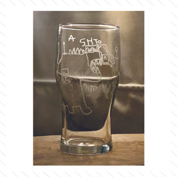 Etched Glassware 2