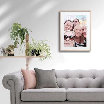 'Group Selfie' Framed