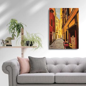 'Genoa' Framed