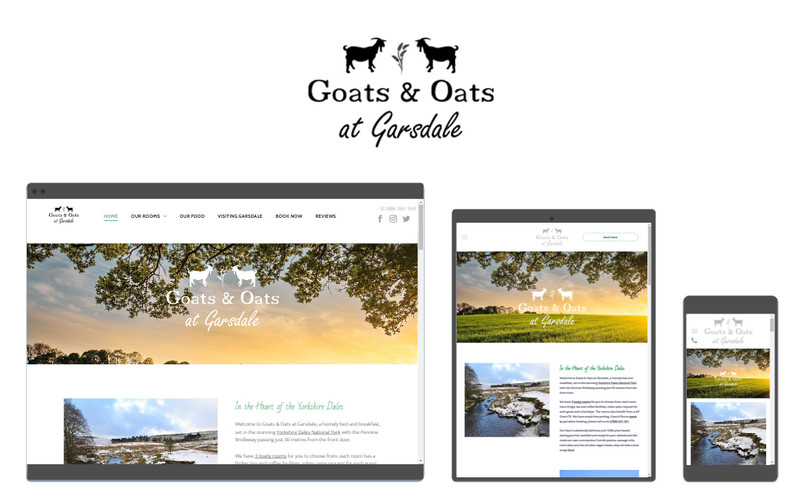 Goats & Oats at Garsdale