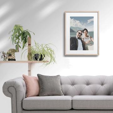 'Wedding Cruise' Framed