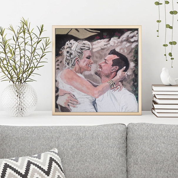 'A Perfect Wedding' Framed