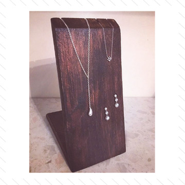 Wooden Jewellery Holder