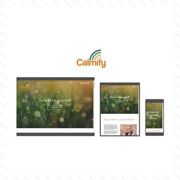 'Calmify' Website