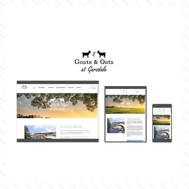 'Goats & Oats at Garsdale' Website