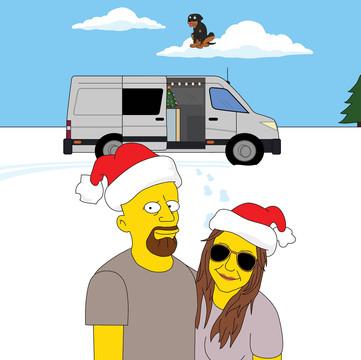 'Simpsons Portrait 1'