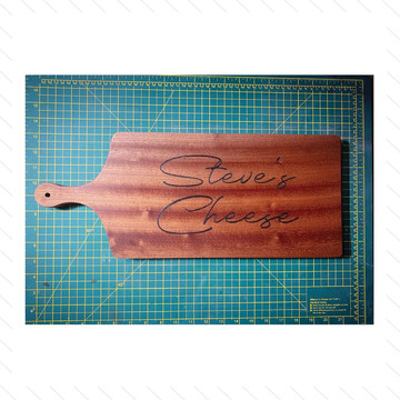 'Steve's Cheese' Chopping Board