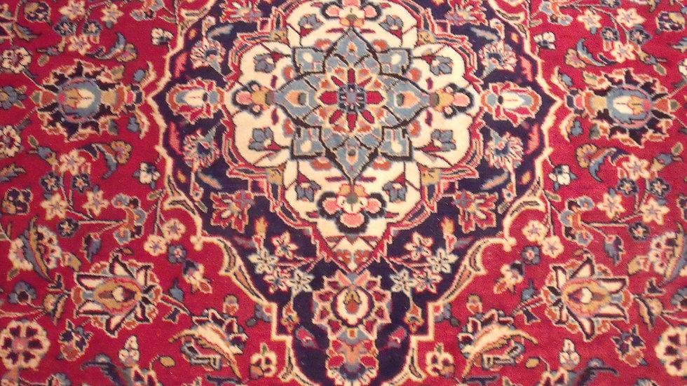 Antique: Red Kashan 8 x 11.8