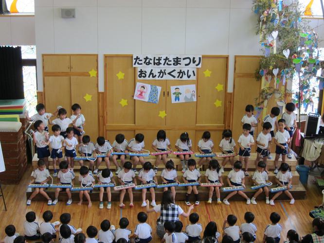 七夕祭り音楽会_こすもすぐみ
