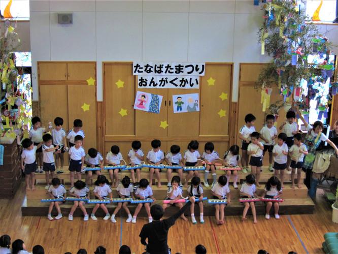 七夕祭り音楽会_ひまわりぐみ