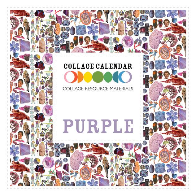 Collage Resource Materials Purple