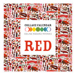 Collage Resource Materials Red