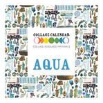 Collage Resource Materials Aqua