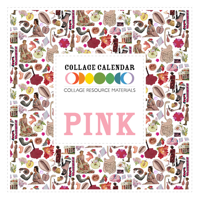 Collage Resource Materials Pink