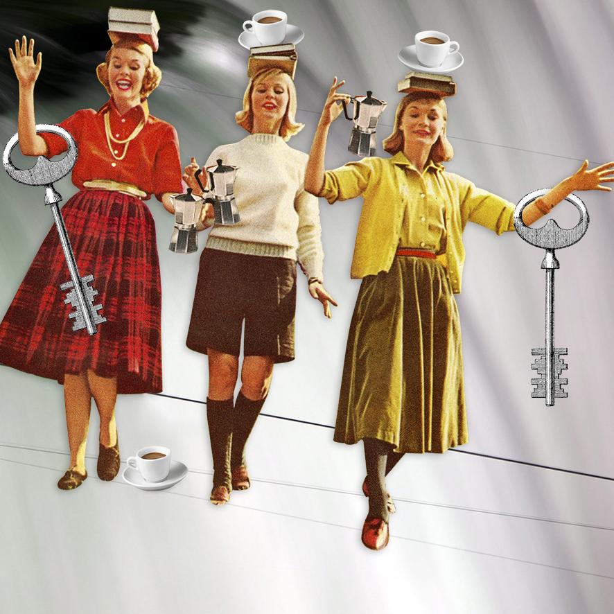 Balancing act (coffee is key)
