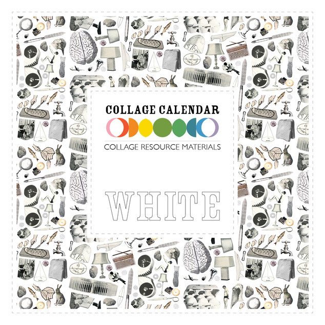 Collage Resource Materials White