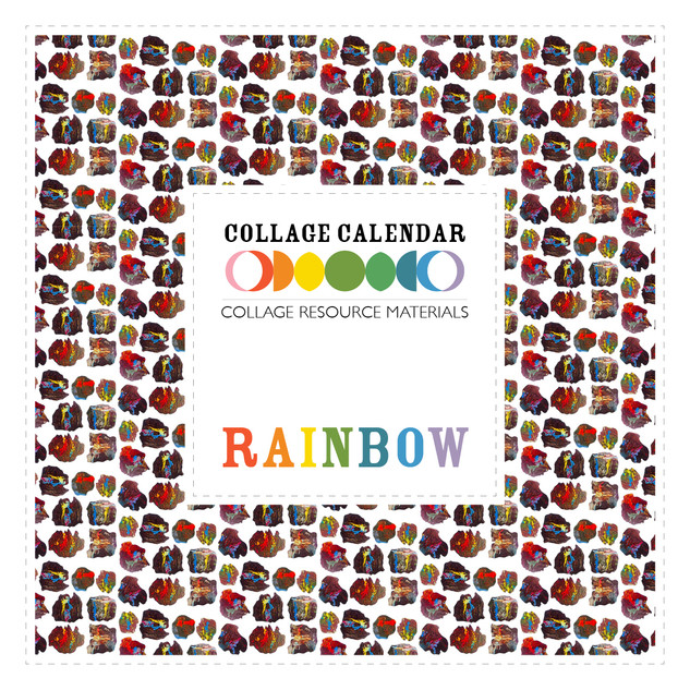 Collage Resource Materials Rainbow