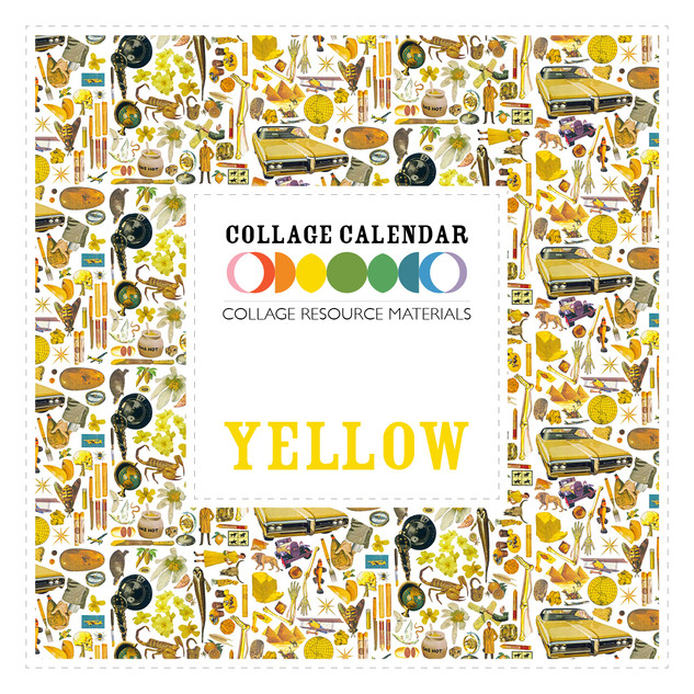 Collage Resource Materials Yellow