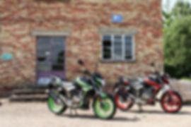 Grey Motorcycle