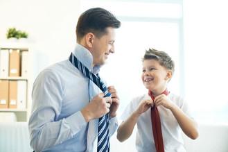 Seja exemplo em tudo no ensino aos filhos