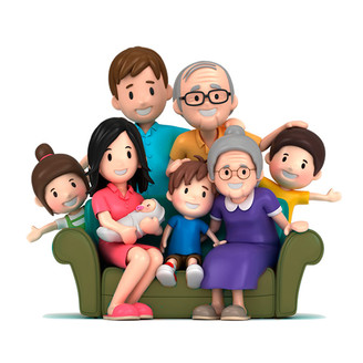 Família, núcleo base da sociedade