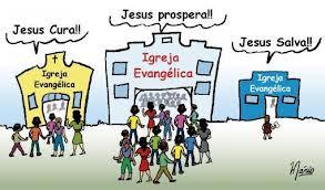 Jesus não disse: Consigam mais membros para a denominação