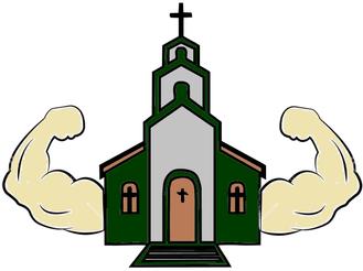 Os dois braços da igreja