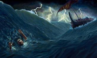 Jonas (2.1-10) - A oração de um náufrago