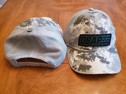 DBAP Digital camo/ Grey mesh non structured hat
