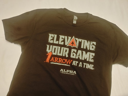 Elevating Your Game Shirt-Black- Mens