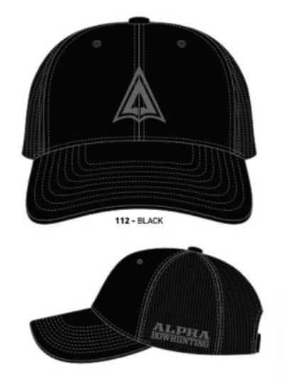 Black Logo Hat snap back