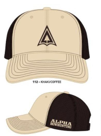 Khaki/ Coffee Logo Hat snap back