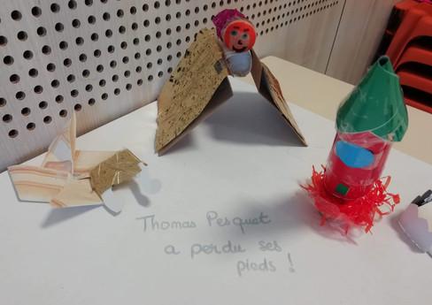 Thomas Pesquet a perdu ses pieds